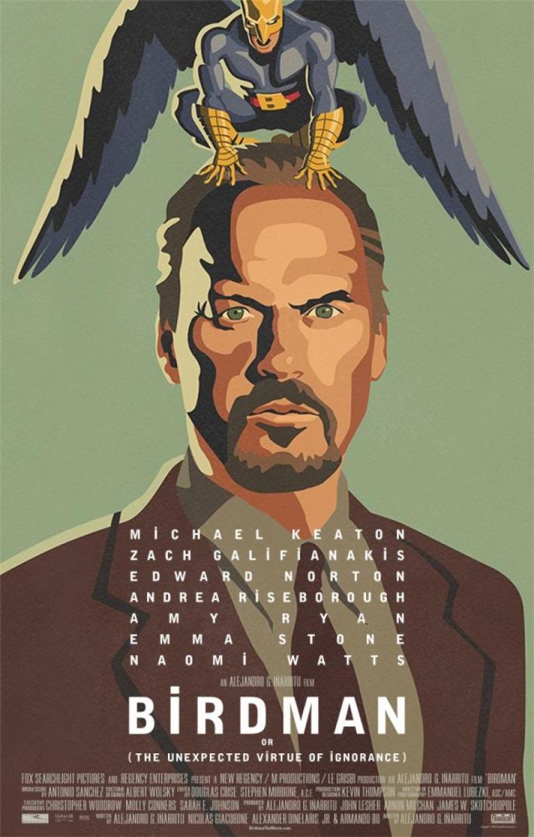 """""""Birdman"""" de Alejandro González Iñárritu"""