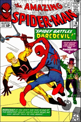 steve-ditko-amazing-spider-man-16-cover