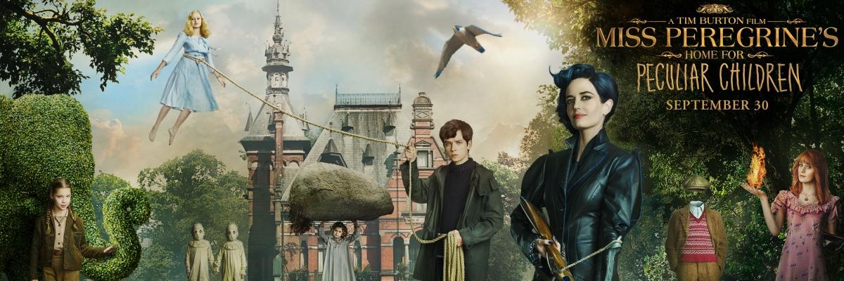 """""""Miss Peregrine et les enfants particuliers"""" de Tim Burton : Le premier trailer !"""