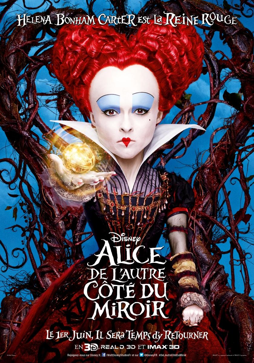 """Sortie ciné du jour """"Alice de l'autre côté du miroir"""" : Miroir, miroir, dis moi qui est la plus belle en ce pays ?"""