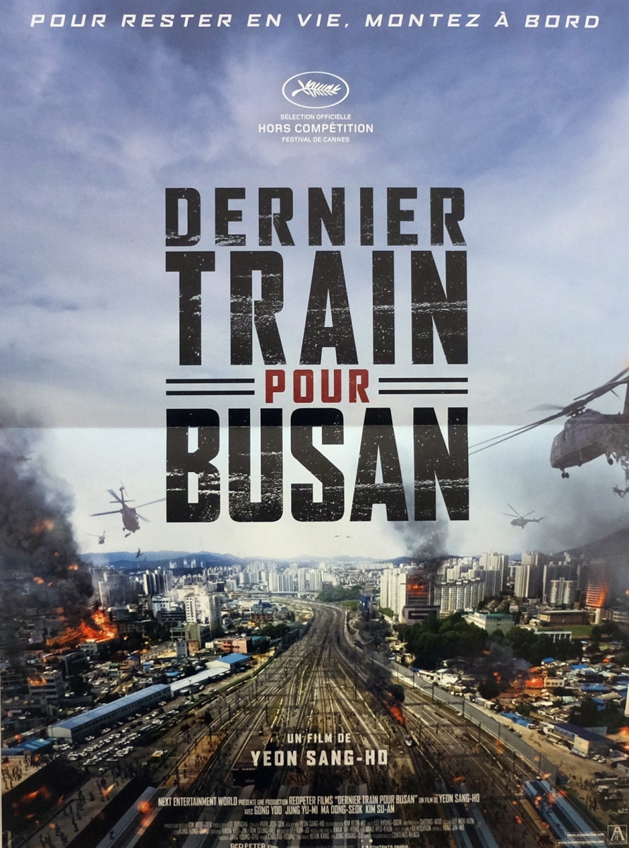 """""""Dernier Train pour Busan"""" de Yeon Sang-Ho - La chronique du blockbuster de l'été 2016 !"""