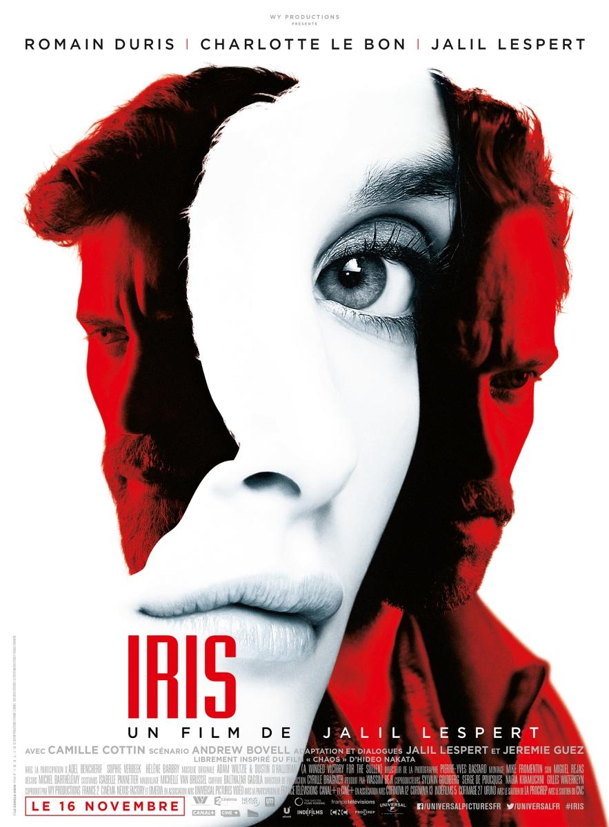 """Preview Ciné : """"Iris"""" de Jalil Lespert : Un trailer moite et sensuel avec Romain Duris et Charlotte Le Bon pour un thriller qui s'annonce envoûtant !"""