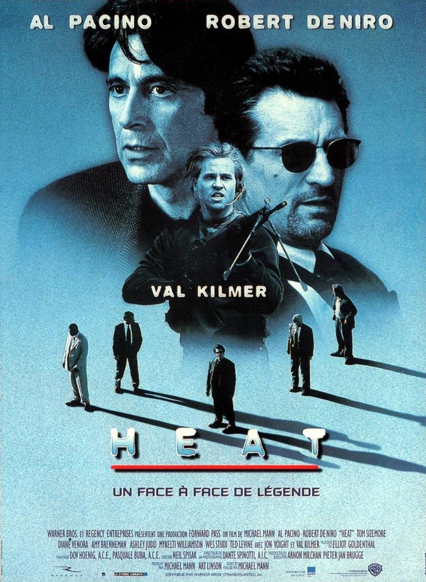 Les Films Cultagieux : « Heat » de Michael Mann – La chronique de Fabrice Liégeois !