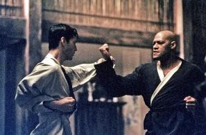 Matrix Neo et Morpheus