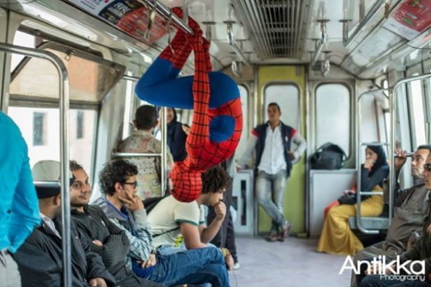 spidermantrain