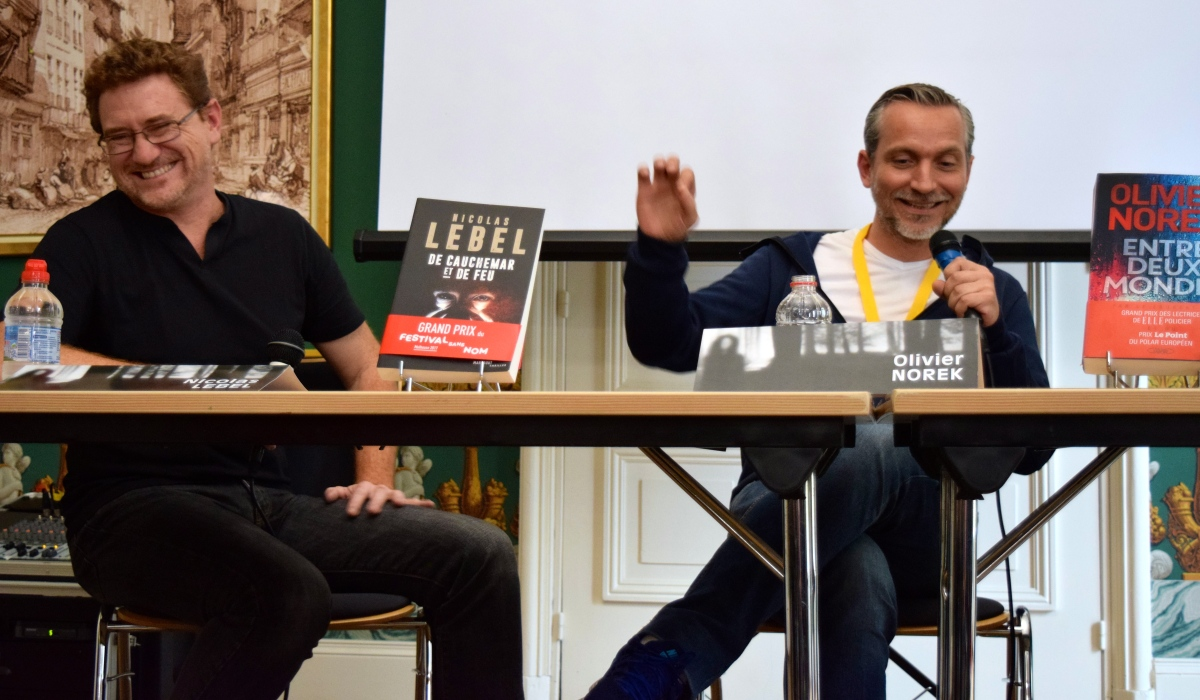 Live Blog Festival sans Nom de Mulhouse : Rencontre avec Nicolas Lebel et Olivier Norek !