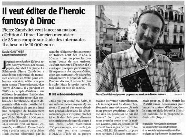 article_zandvliet_la_charente_libre