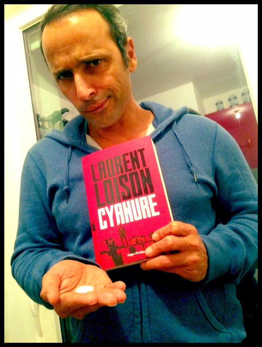 """""""Cyanure"""" de Laurent Loison - La chronique à l'arrière-goût d'amande !"""