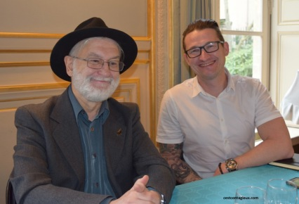 Lire C'est Libre 2018 - Benoît Chavaneau - Nicolas Duplessier - Copyright KoMa