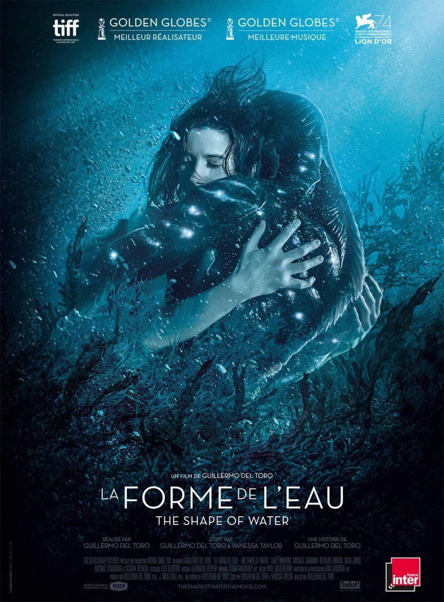 «La Forme de l'eau» de Guillermo Del Toro - La chronique aquaphile ! COUP DE CŒUR !