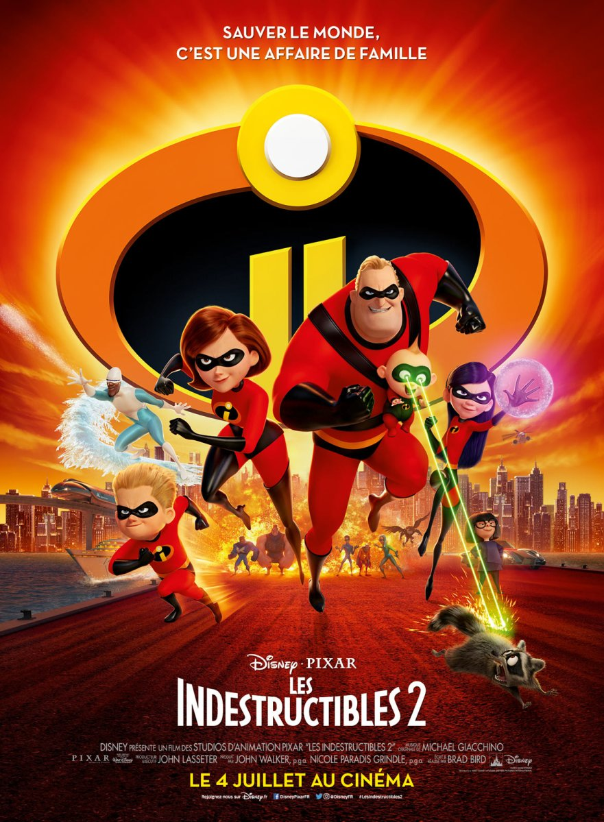 « Les Indestructibles 2 » de Brad Bird - La chronique super-emballée !