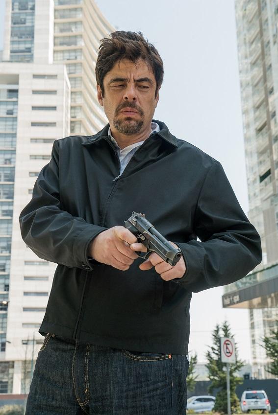 Benicio Del Toro stars in Sicario: Day of theSoldado.