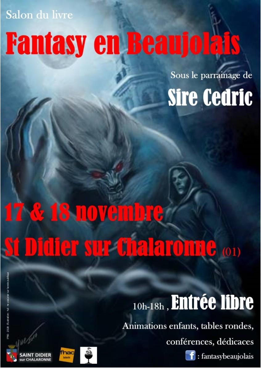 News Salon : Fantasy en Beaujolais 2018 - Un cru exceptionnel vous attend les 17 & 18 novembre !