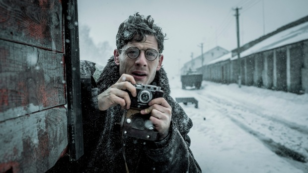 James Norton in MR. JONES directed by Agnieszka Holland (Photo by Robert Palka -® 2019 Film Produkcja All rights reserved)